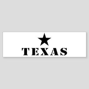 Texas, Lone Star State Sticker (Bumper)