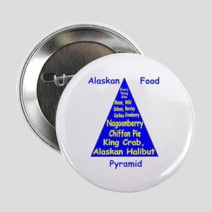 "Alaskan Food Pyramid 2.25"" Button"
