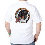 Tug's Golf Shirt, back image