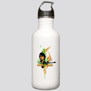 We love rock music Stainless Water Bottle 1.0L