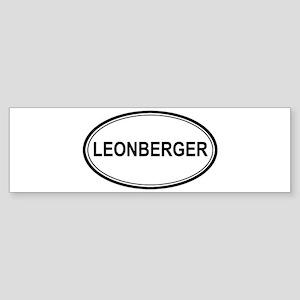 Leonberger Euro Bumper Sticker