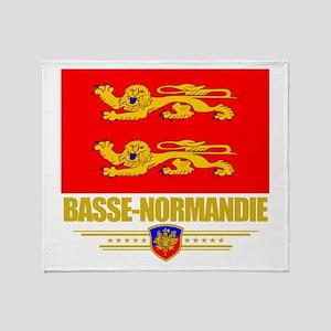 Basse-Normandie Throw Blanket