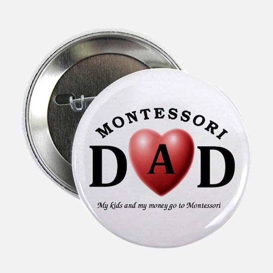 """Unique Montessori 2.25"""" Button"""