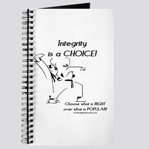 Integrity is a CHOICE! Journal