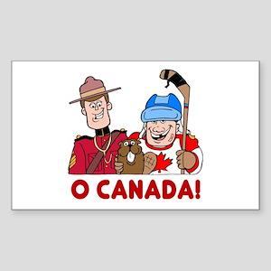 O Canada Vinyl Sticker