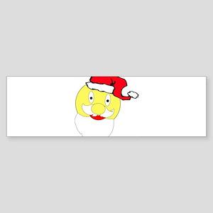Christmas smiley Sticker (Bumper)