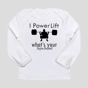 I Power Lift Long Sleeve Infant T-Shirt