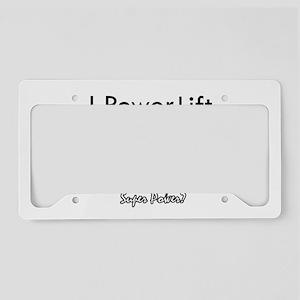I Power Lift License Plate Holder
