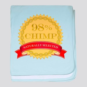 98% Chimp Naturally Selected baby blanket