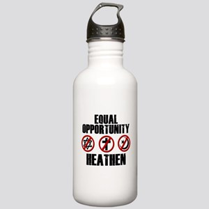 Equal Opportunity Heathen Stainless Water Bottle 1