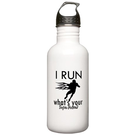 I Run Stainless Water Bottle 1.0L
