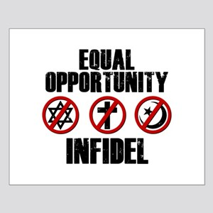 Equal Opportunity Infidel Small Poster