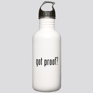 got proof? Stainless Water Bottle 1.0L