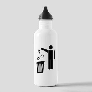 Religion Wastebin Stainless Water Bottle 1.0L