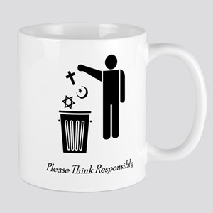 Please Think Responsibly Mug
