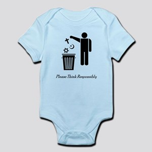Please Think Responsibly Infant Bodysuit