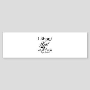 I Shoot Sticker (Bumper 10 pk)