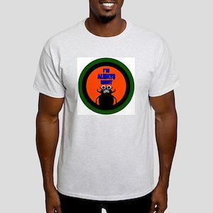ANGRY DUNG BEETLE c Ash Grey T-Shirt