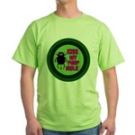ANGRY DUNG BEETLE c Green T-Shirt