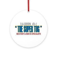 Super Tug ATS -1 Ornament (Round)