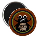 """ANGRY DUNG BEETLE c 2.25"""" Magnet (10 pack)"""
