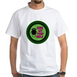 ANGRY DUNG BEETLE c White T-Shirt
