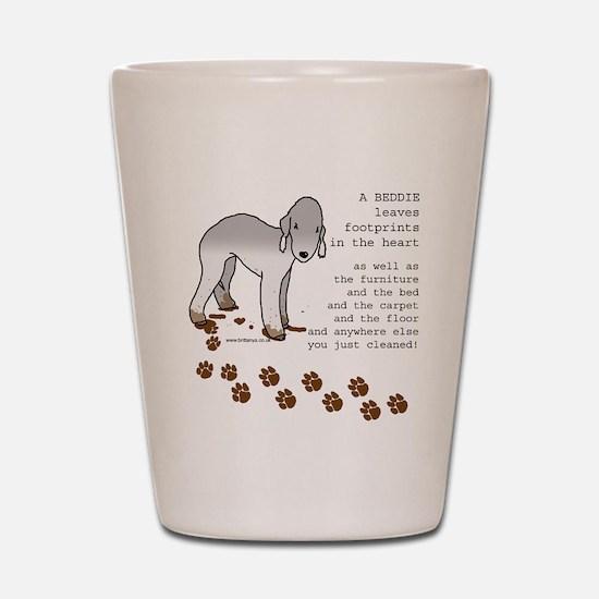 Bedlington Terriers Shot Glass