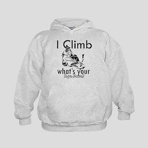 I Climb Kids Hoodie