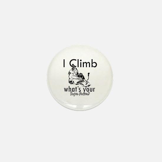 I Climb Mini Button