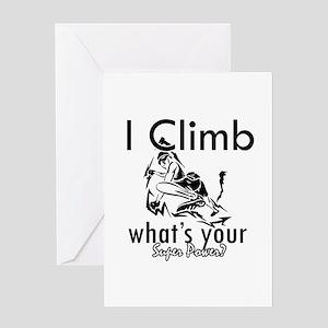 I Climb Greeting Card