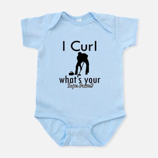 I Curl Infant Bodysuit