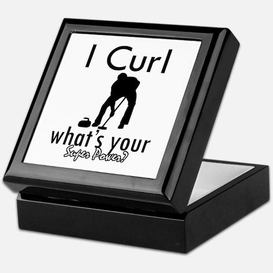 I Curl Keepsake Box