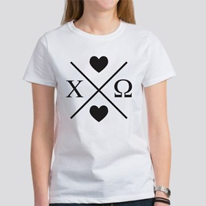 Chi Omega Cross Women's Classic T-Shirt
