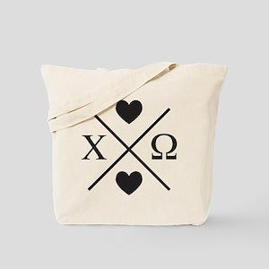 Chi Omega Cross Tote Bag