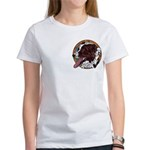 Tug's Redheaded Women's T, pocket area