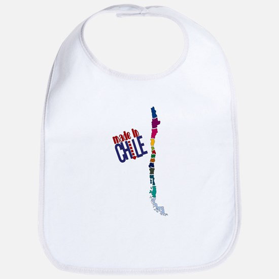 Made in Chile - Map Bib