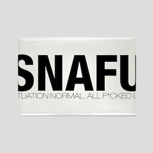 SNAFU Rectangle Magnet