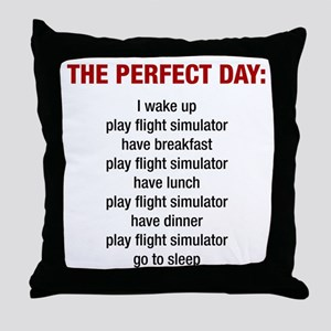 Perfect FS Day Throw Pillow