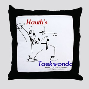 Hauth's Taekwondo Throw Pillow