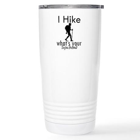 I Hike Stainless Steel Travel Mug