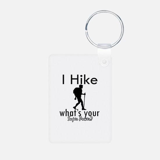 I Hike Keychains