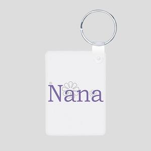 Nana Aluminum Photo Keychain