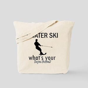 I Water Ski Tote Bag
