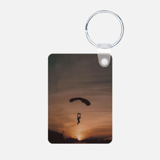 Keychains with Sunset Skydiver