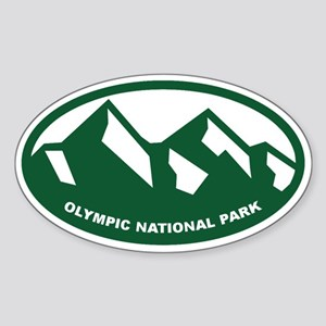 Olympic Natl Park Sticker (Oval)