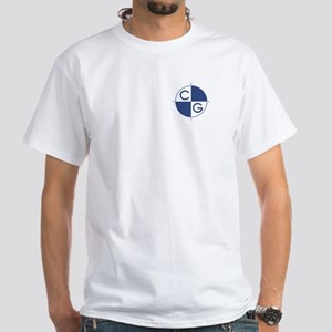 Center of Gravity White T-Shirt