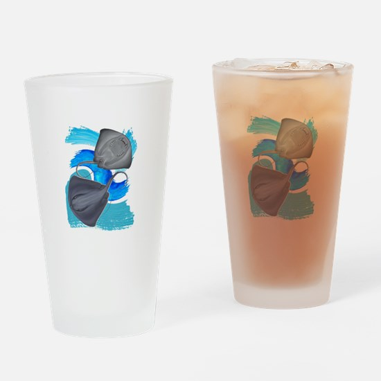 TWO ON IT Drinking Glass
