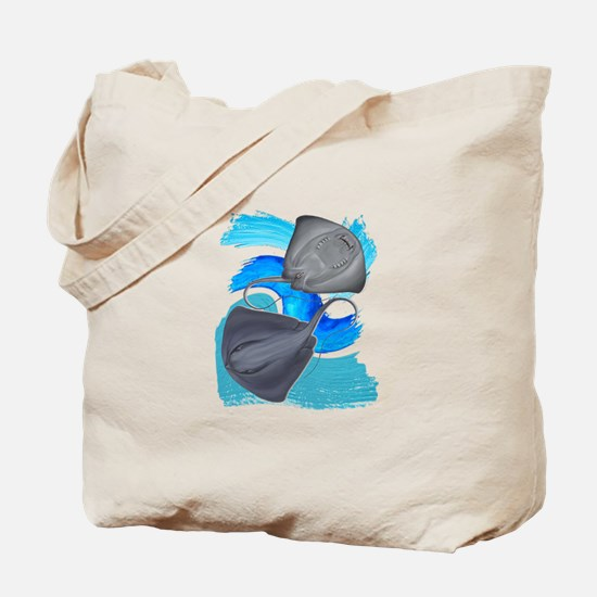 TWO ON IT Tote Bag