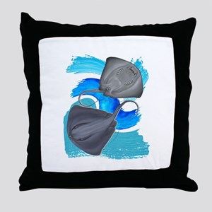 TWO ON IT Throw Pillow