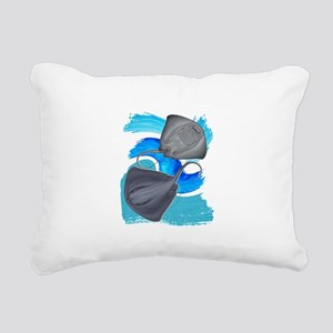 TWO ON IT Rectangular Canvas Pillow